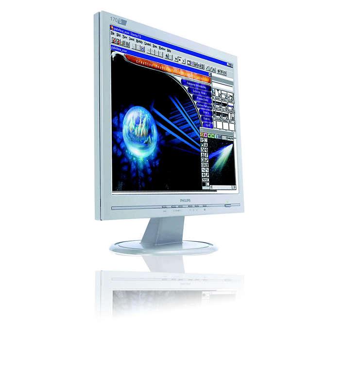 價格合理又節省空間的顯示器,幫助您完成更多的工作。