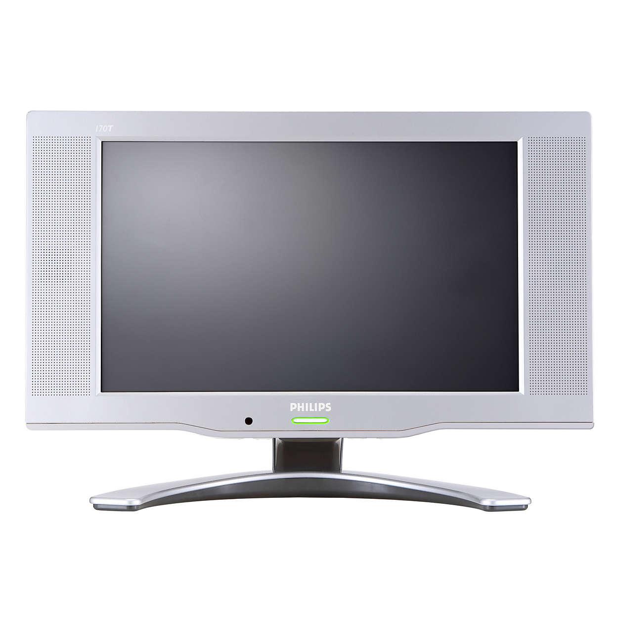 Ihr vielseitiges LCD-Monitor-TV-Kombi-Gerät