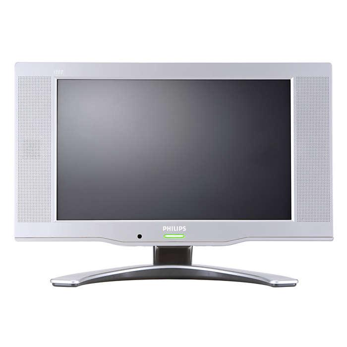 ทีวีจอ LCD อเนกประสงค์เป็นทั้งทีวีและจอคอมพิวเตอร์