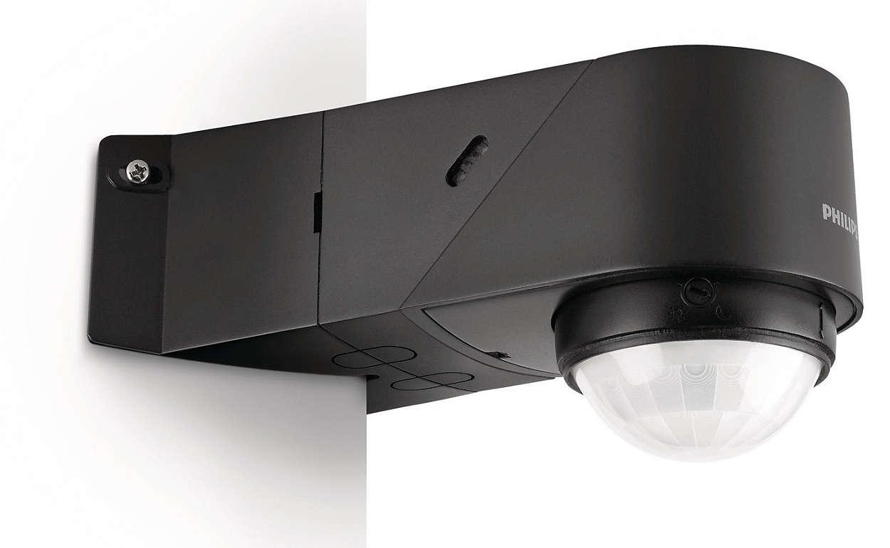 Licht En Bewegingssensor : Pir detector 172663016 philips
