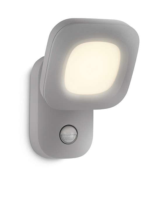 Jasne oświetlenie, kiedy wracasz do domu