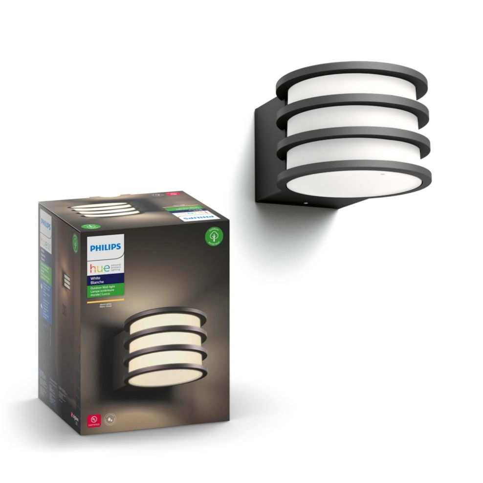 Philips Hue Lucca Outdoor Wall Lantern