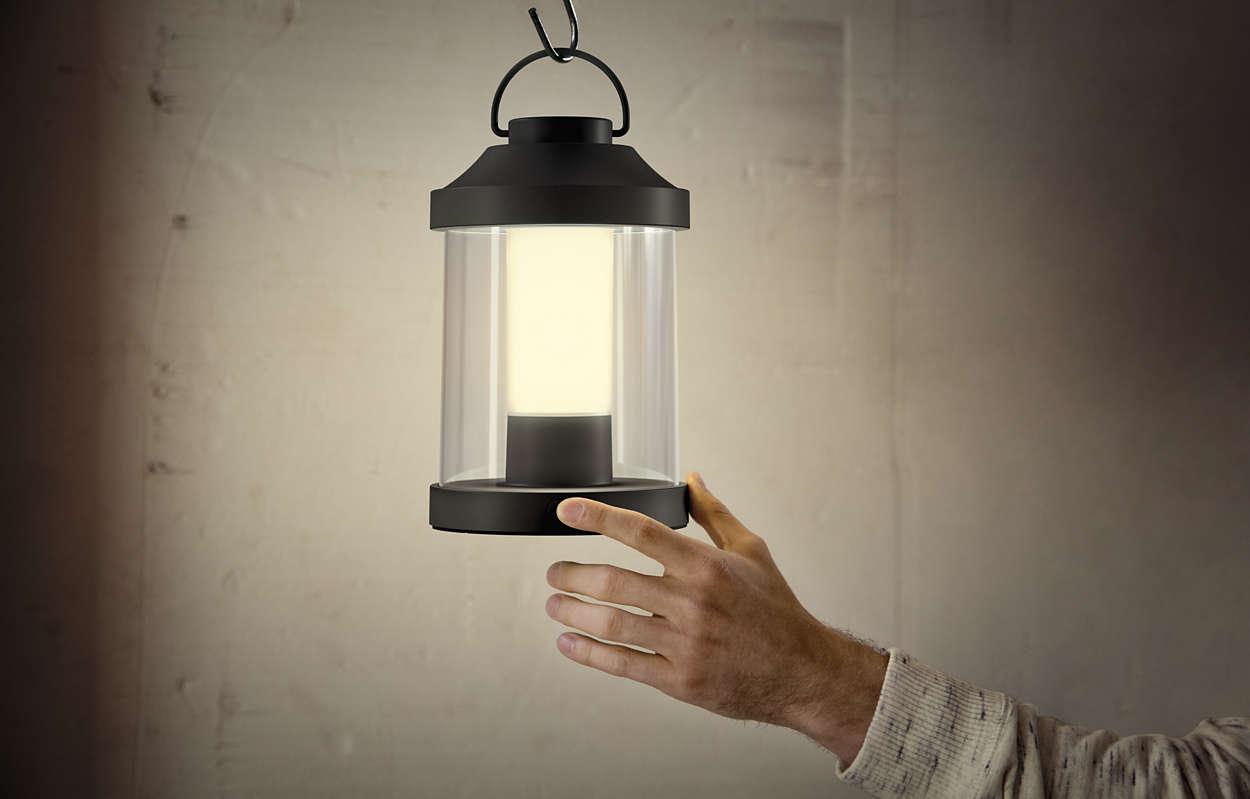 Lampadario Allaperto : Lampada da tavolo 1736030p0 philips