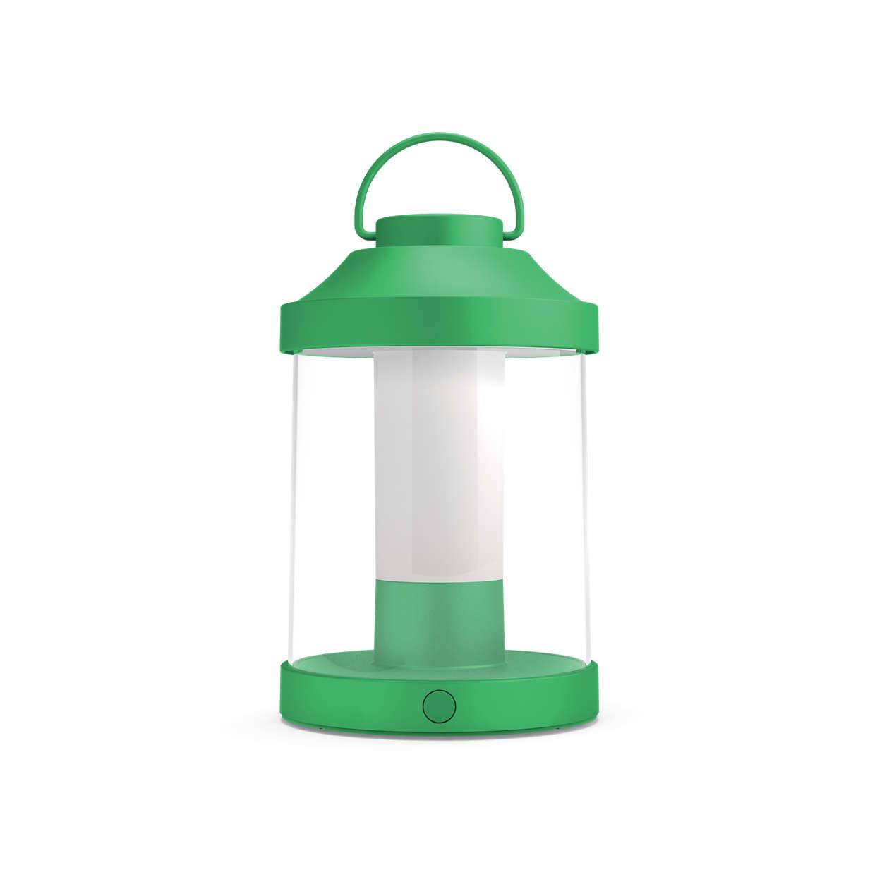 Profitez de vos soirées en extérieur avec un éclairage portable