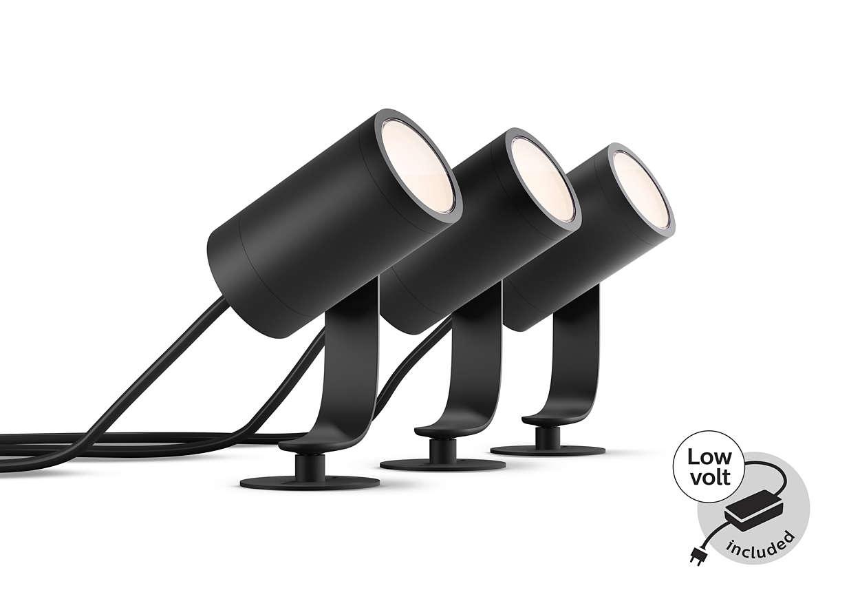 Branchez votre éclairage et illuminez vos extérieurs