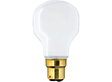 Softone 60W B22 240V T55 WH 1CT/5X20FT