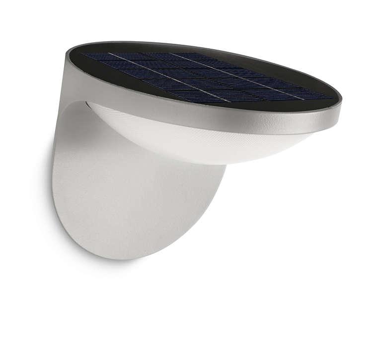 Pretvorite sunčevu svjetlost u LED svjetlo