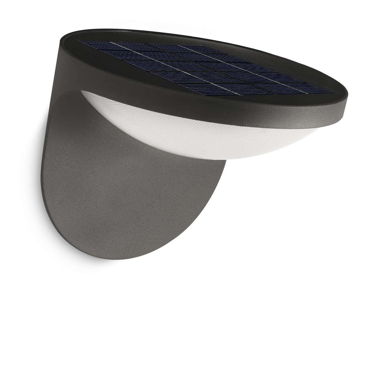 Maak van zonlicht LED-licht