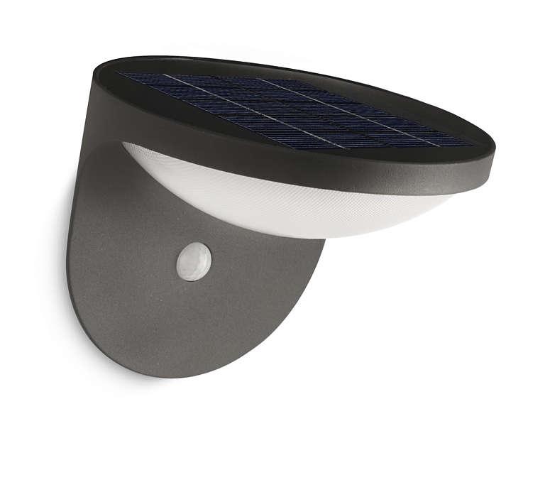 Transformar luz solar em luz LED