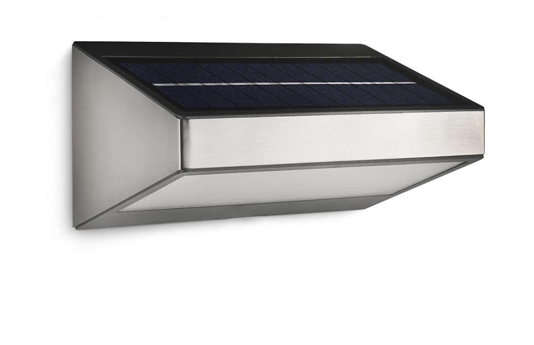 Przemiana promieni słonecznych w światło LED