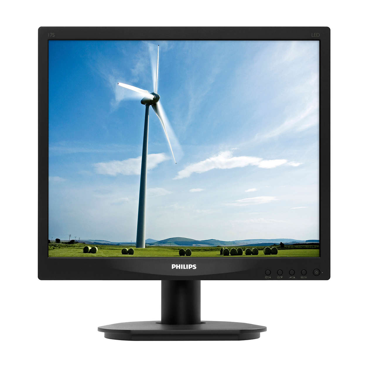 lcd monitor mit led hintergrundbeleuchtung 17s4lsb 00 philips. Black Bedroom Furniture Sets. Home Design Ideas