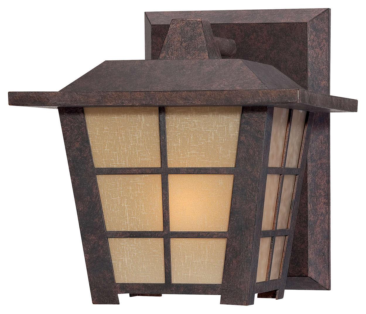 Shoji 1-light Outdoor Wall, Colonial Bronze finish