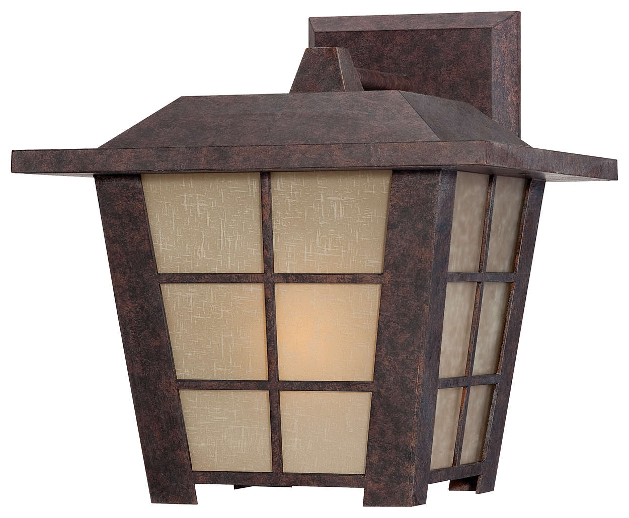 Shoji 1-light Outdoor Wall, Colonial Bronze finish
