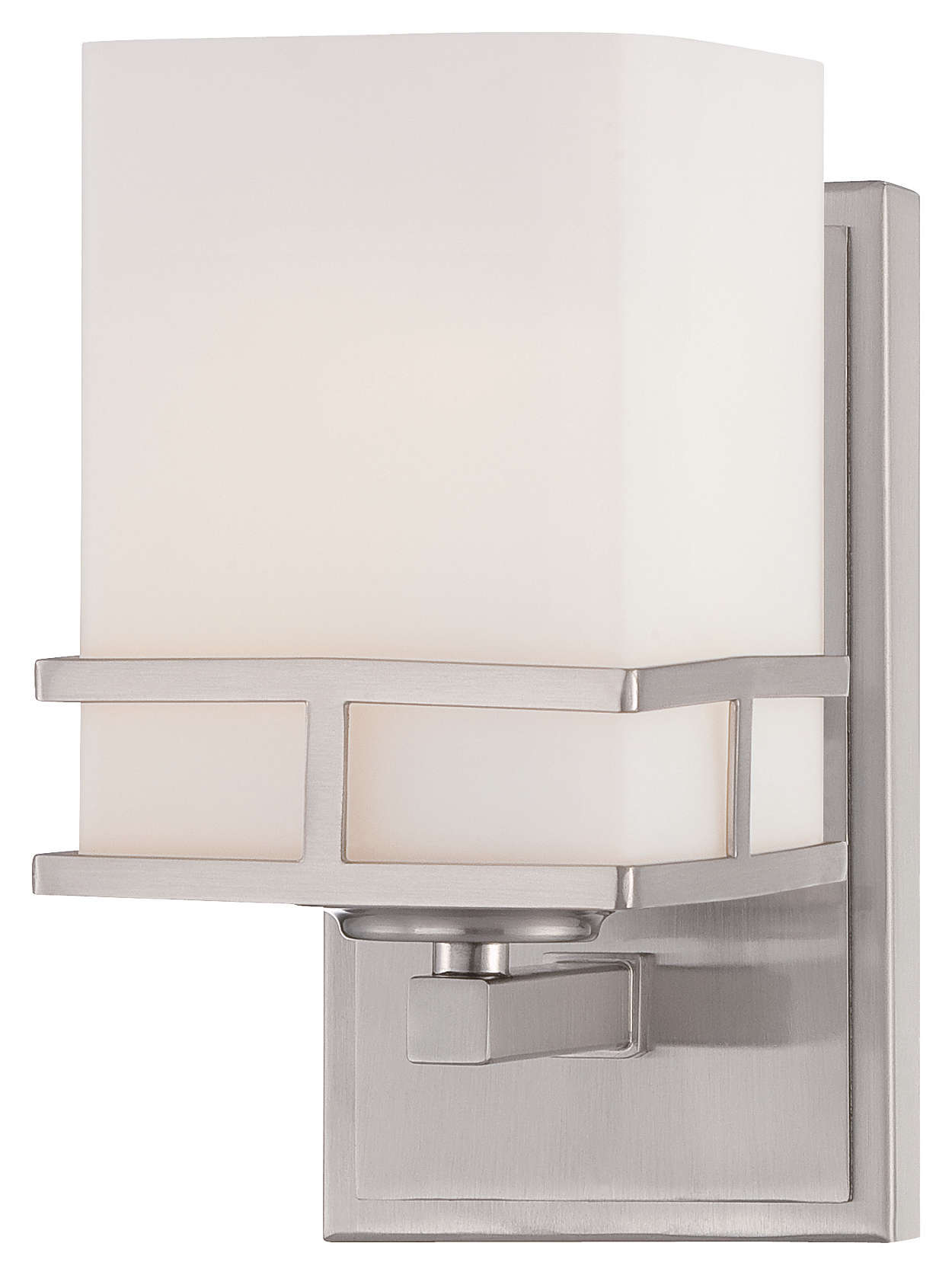 Morris 1-light Bath in Satin Nickel finish