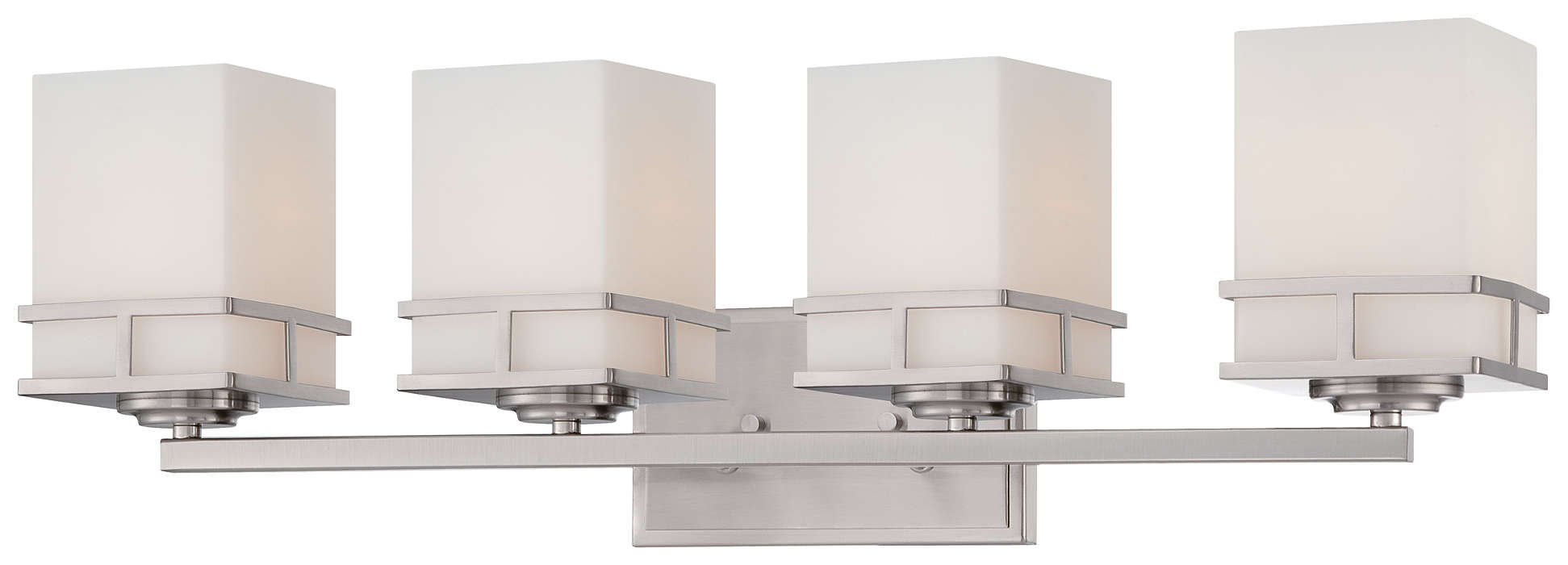Morris 4-light Bath in Satin Nickel finish