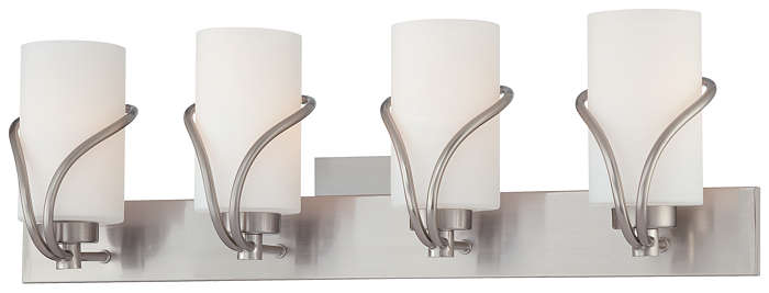 Karma 4-light Bath in Satin Nickel finish