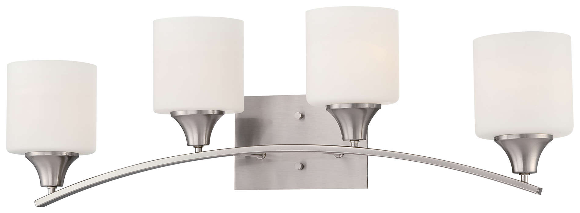 Hayden 4-light Bath in Satin Nickel finish