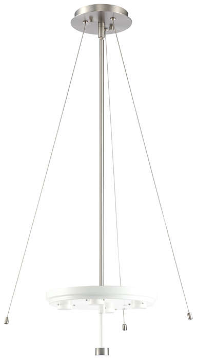 A la Carte 4-light LED Pendant, Satin Nickel