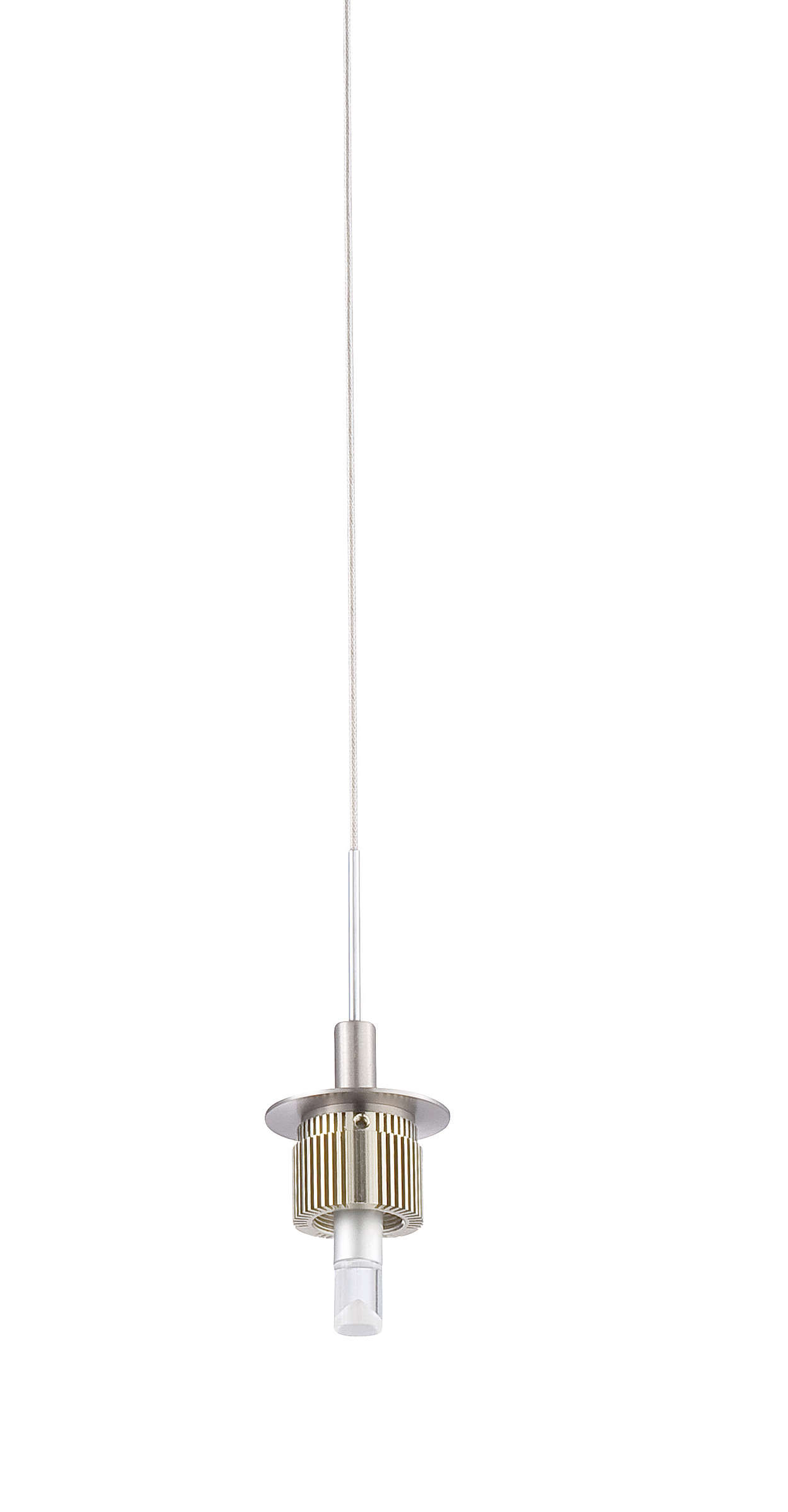 A la Carte 1-light LED Pendant, Satin Nickel
