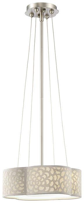 Noe 2-light Pendant in Satin Nickel finish