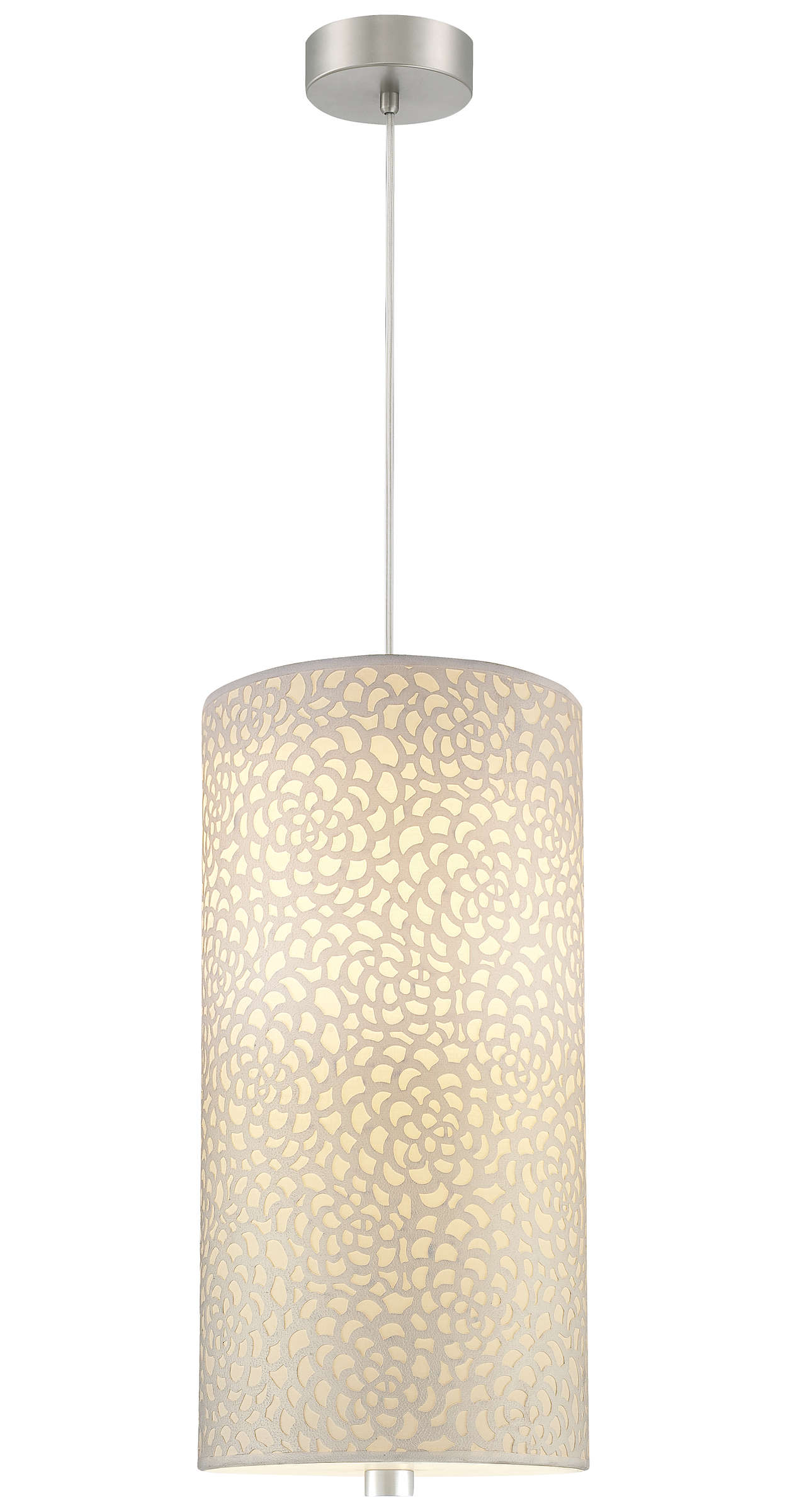 Noe accessory shade in Ivory Fabric finish