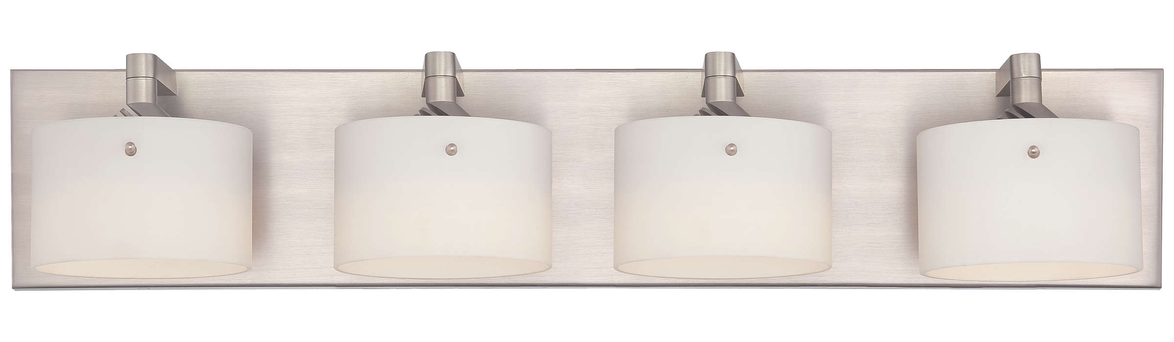Yo-Yo 4-light LED Bath in Satin Nickel finish