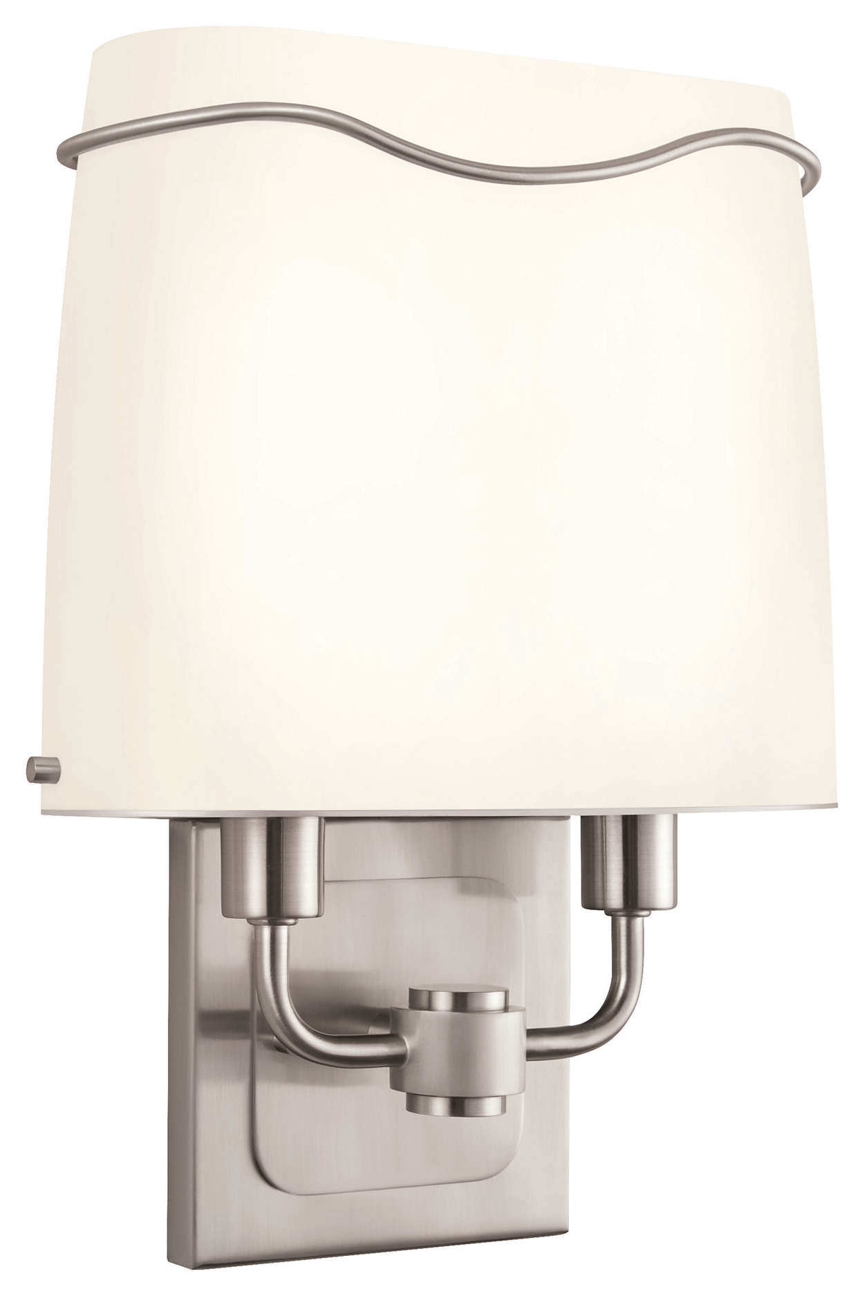 Elgin 1-light Wall in Satin Nickel finish