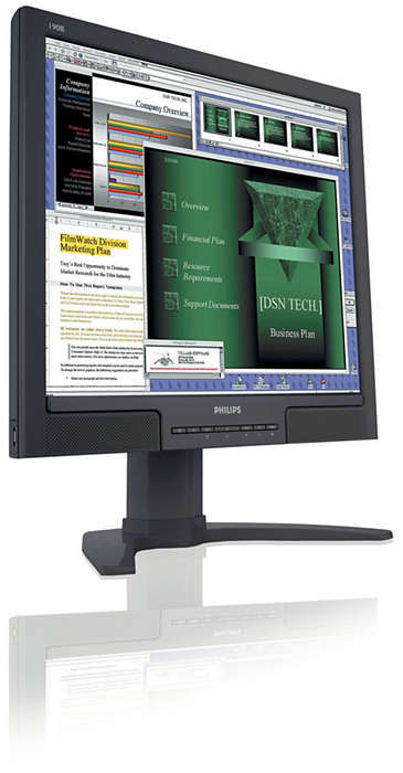 High-productivity display, great convenience