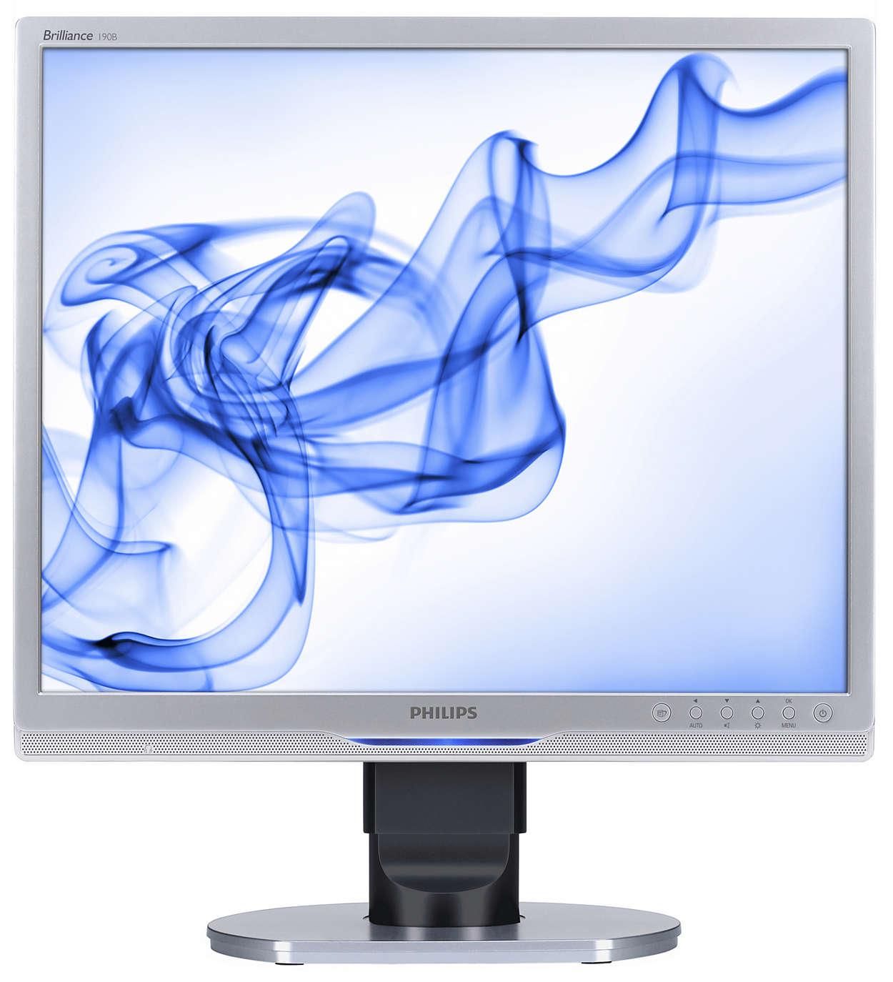 Ergonomikus képernyő üzleti célra, a nagyobb hatékonyságért