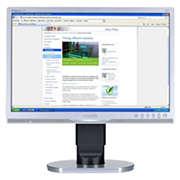 Brilliance Monitor LCD con retroiluminación LED