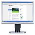 Brilliance LCD-skjerm med LED-baklys