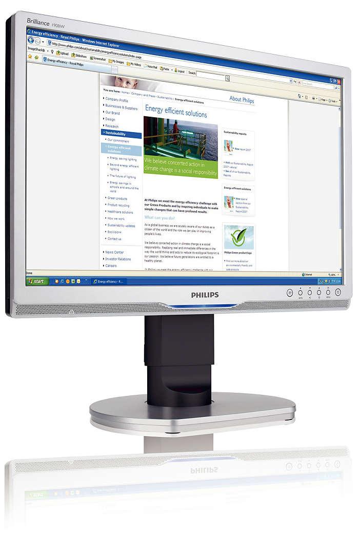 LCD Widescreen Monitor 190BW9CS 00
