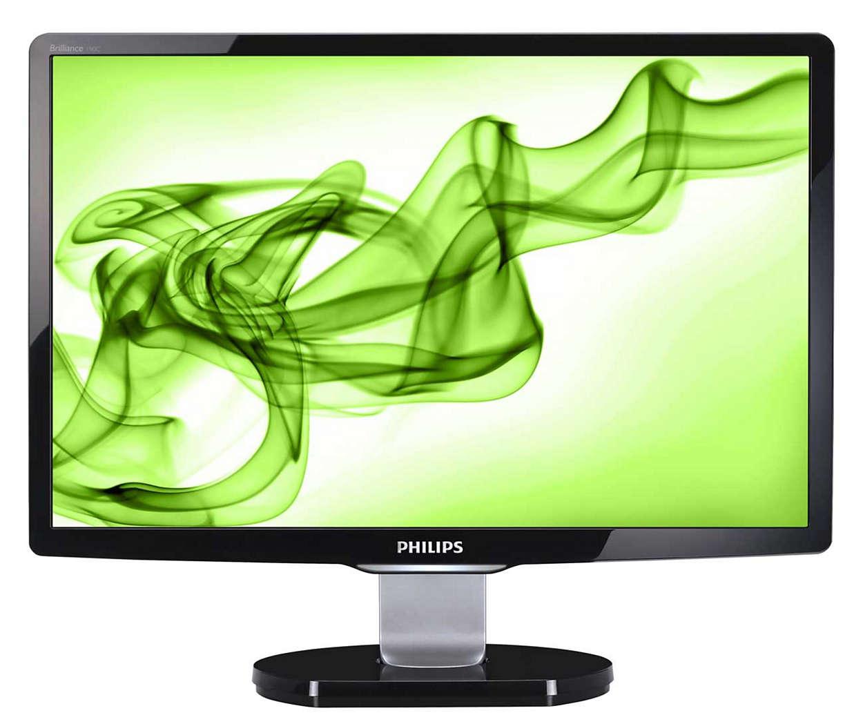 Κομψή οθόνη με πολλές δυνατότητες ηλεκτρονικής ψυχαγωγίας