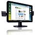 LCD-laajakuvanäyttö