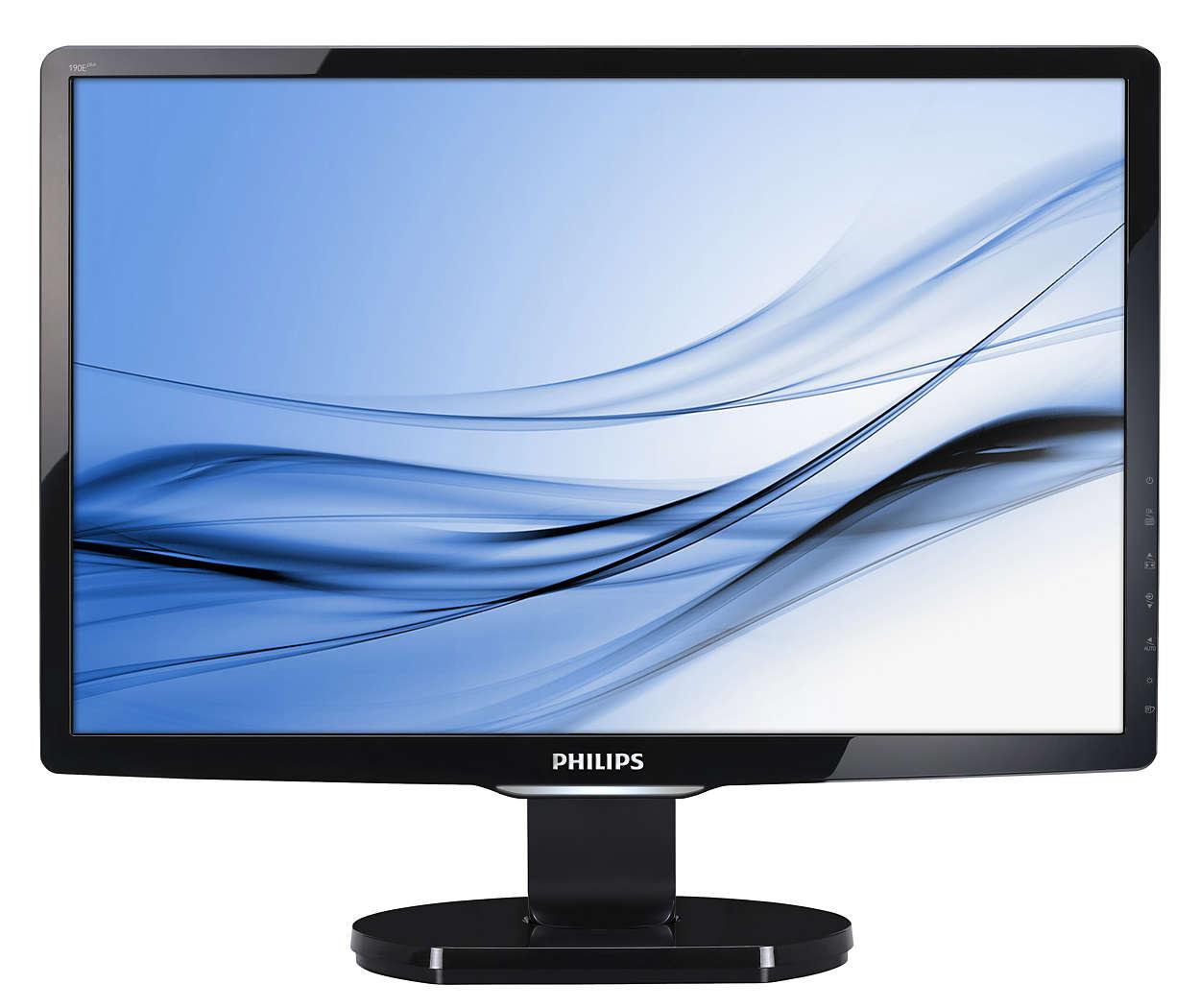 최고의 가치를 선사하는 세련된 HD 디스플레이