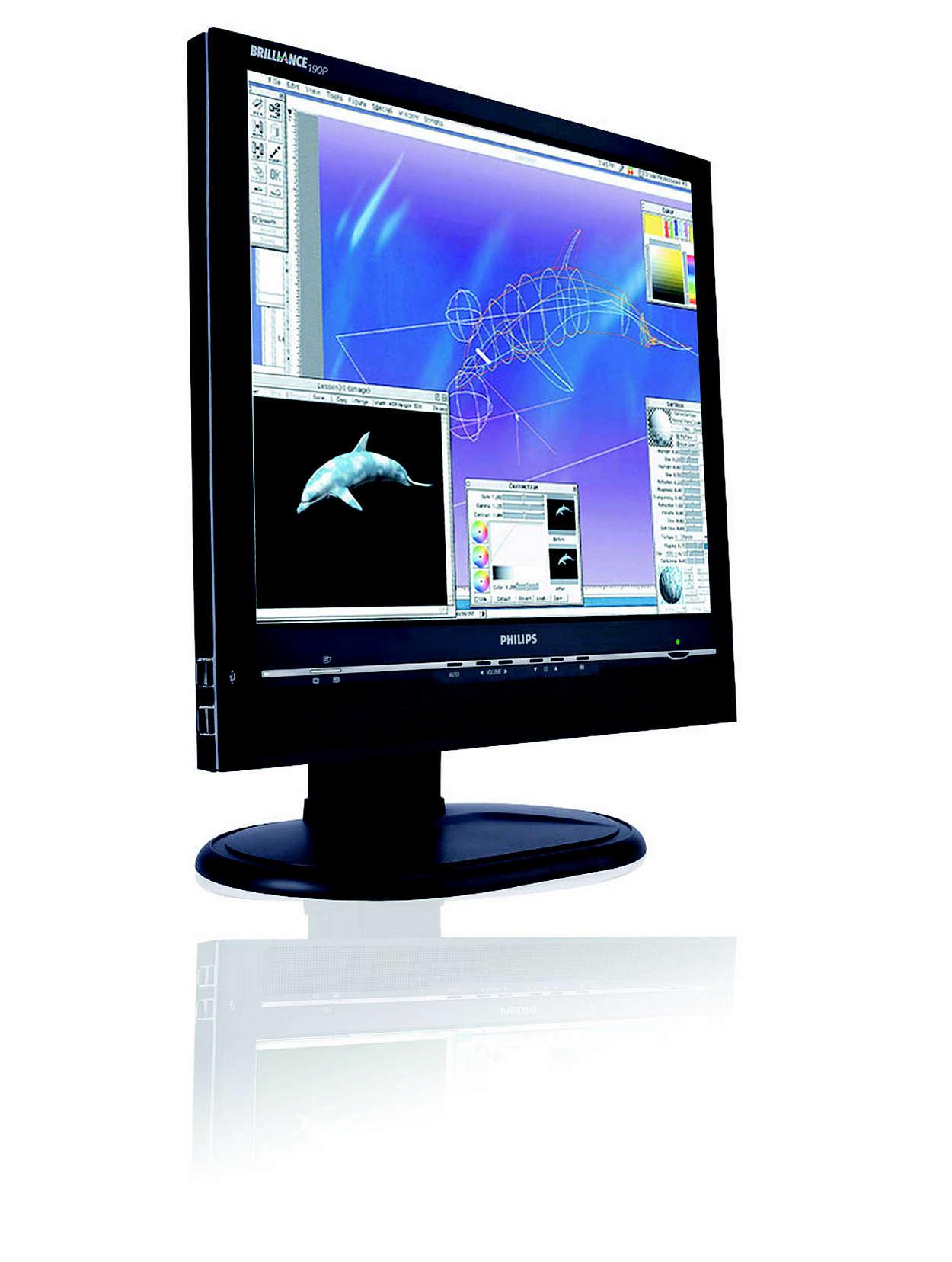 優質、大熒幕顯示器,適合專業工作