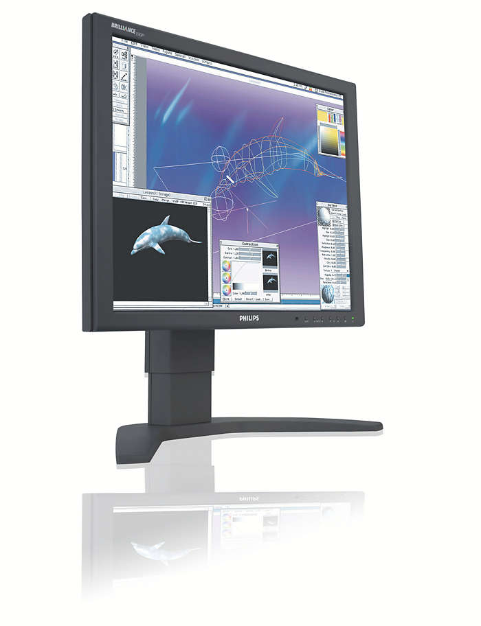 Super display designed for demanding professionals