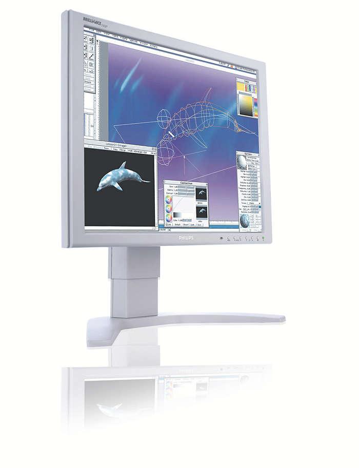 Suverän bildskärm utvecklad för krävande professionella användare