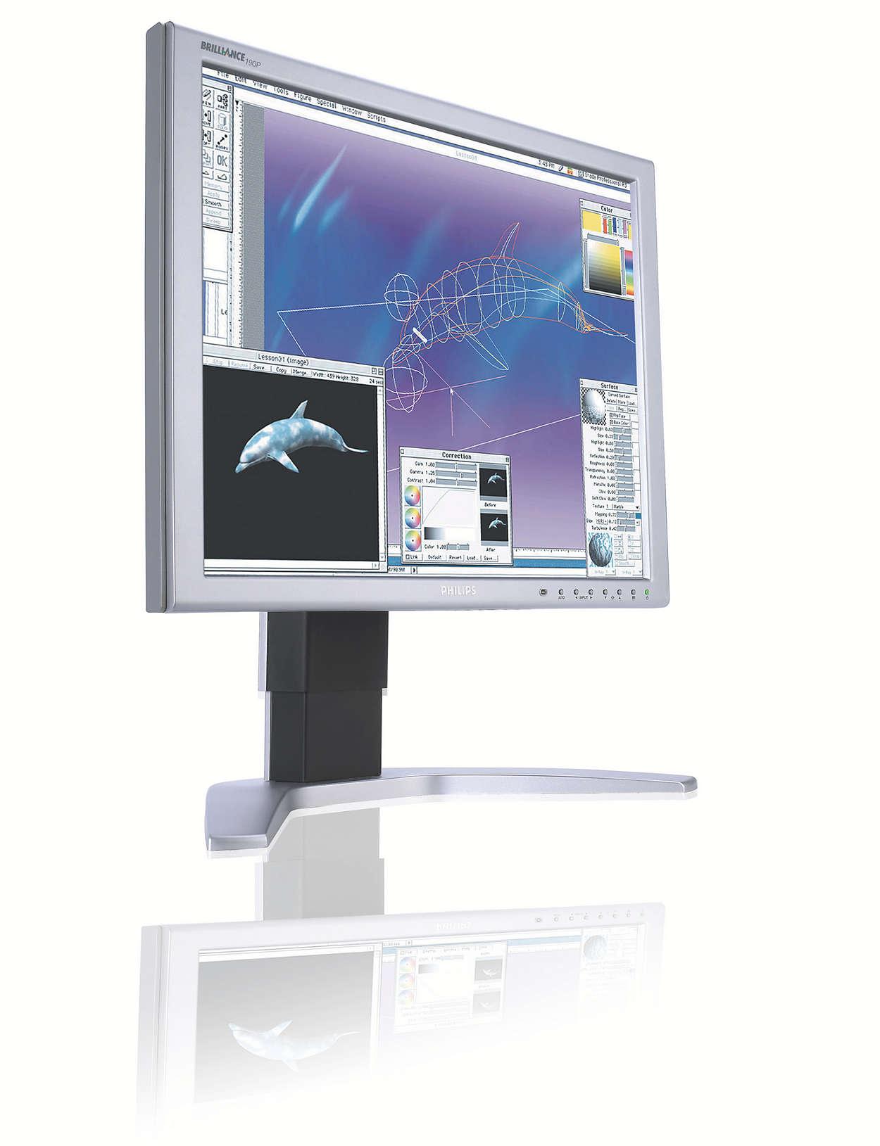 Superbeeldscherm ontworpen voor veeleisende professionals
