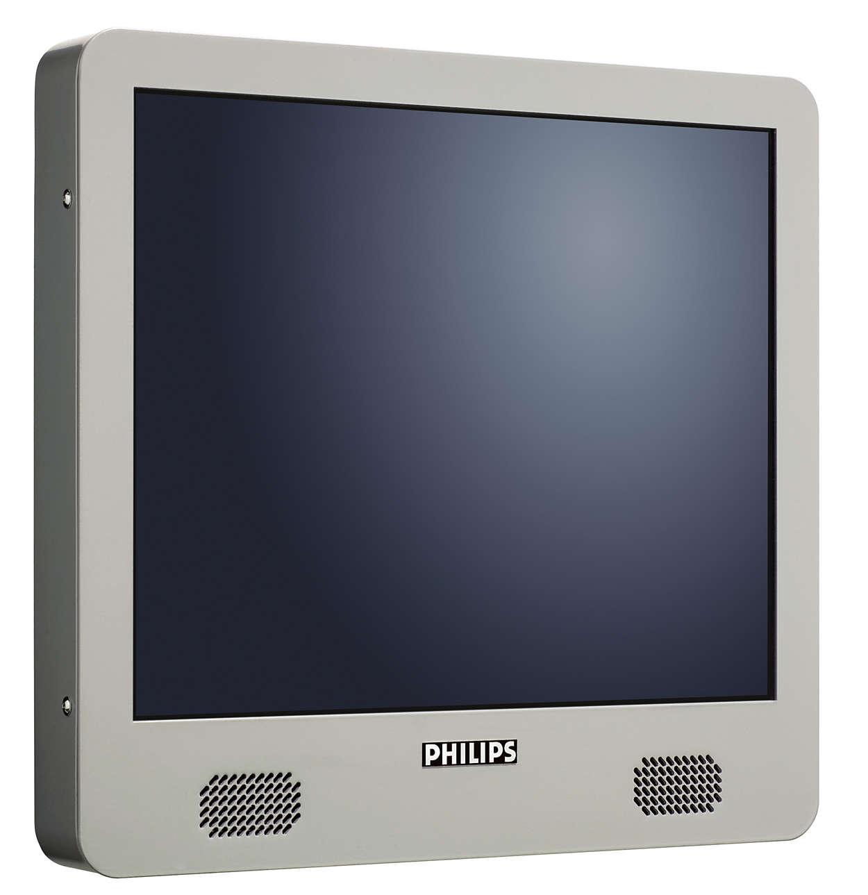De ultieme kioskmonitor met touchscreen