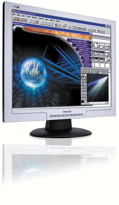 En stor skärm till en liten kostnad