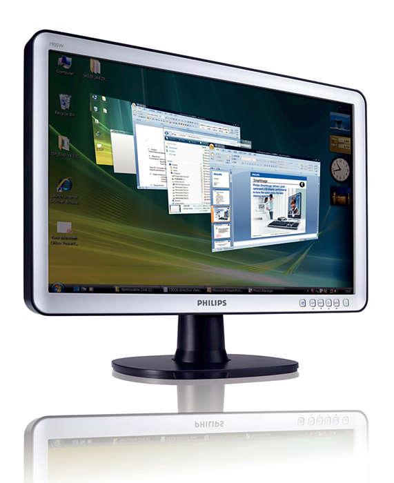 Geniş ekranın iş verimliliğine geçin