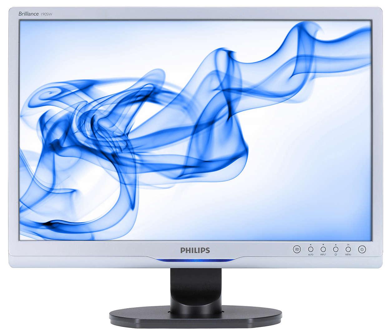 Widescreen med masser af funktioner øger produktiviteten