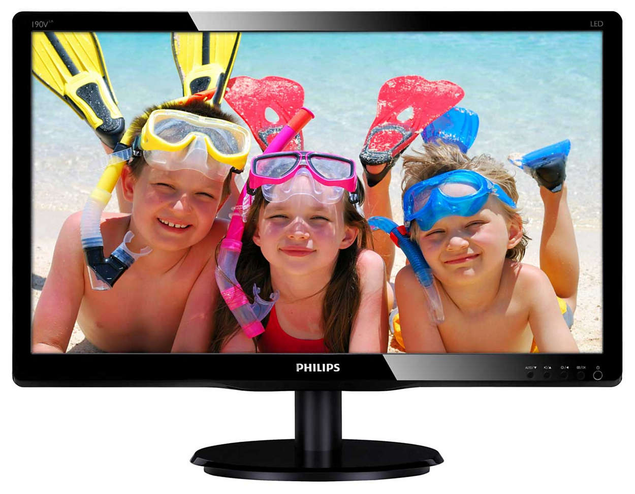 Enjoy great LED pictures in vivid colors