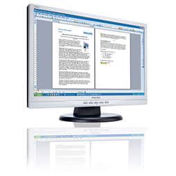 LCD-breedbeeldmonitor