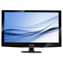 Monitor LCD z dotykowymi elementami sterującymi