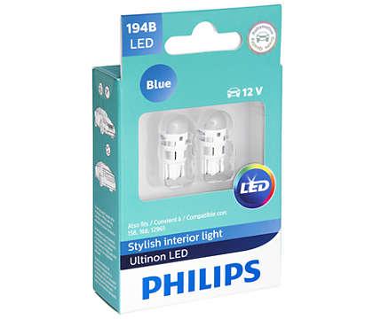 Ampoules élégantes diffusant une lumière très brillante
