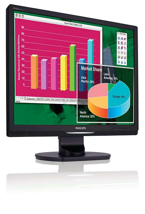 생산성 향상을 위한 기능 내장형 디스플레이