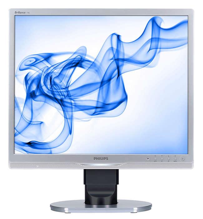 Productiviteitsverhogende ergonomische bedrijfsmonitor