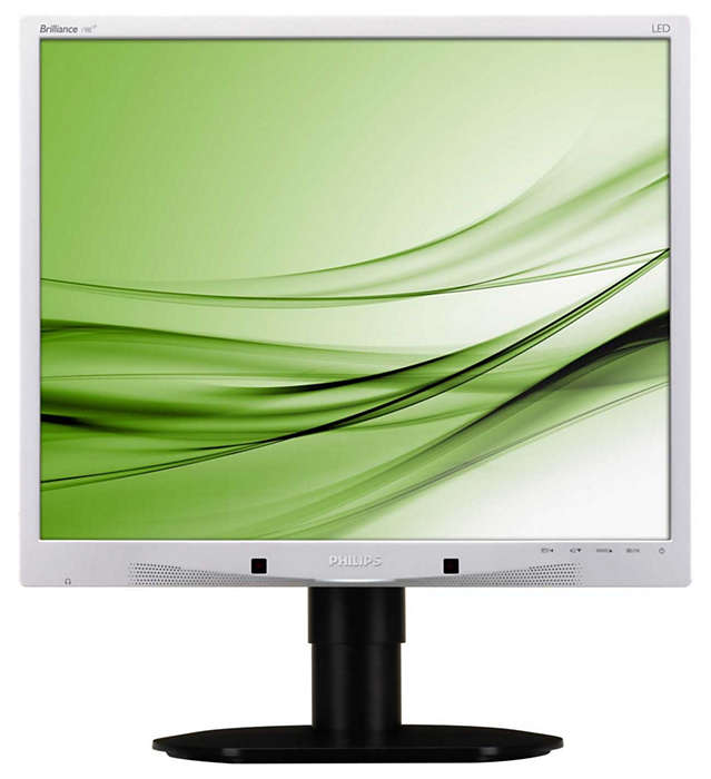 Hållbar skärm med miljödesign